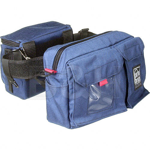 Porta Brace BP-3 Waist Belt Production Pack - for Camcorder Batteries, Tapes and Accessories (Blue)