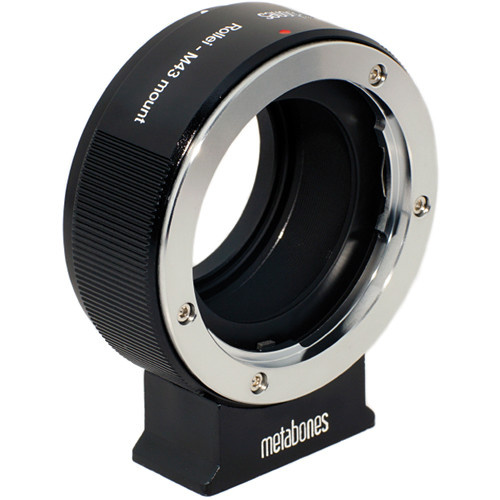 Metabones Rollie QBM Mount Lens to Micro Four Thirds Lens Mount Adapter (Black)