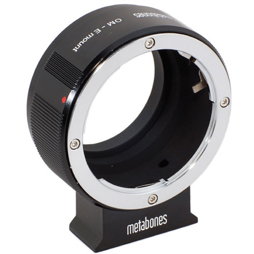 Metabones Olympus OM Mount Lens to Sony NEX Camera Lens Mount Adapter (Black)