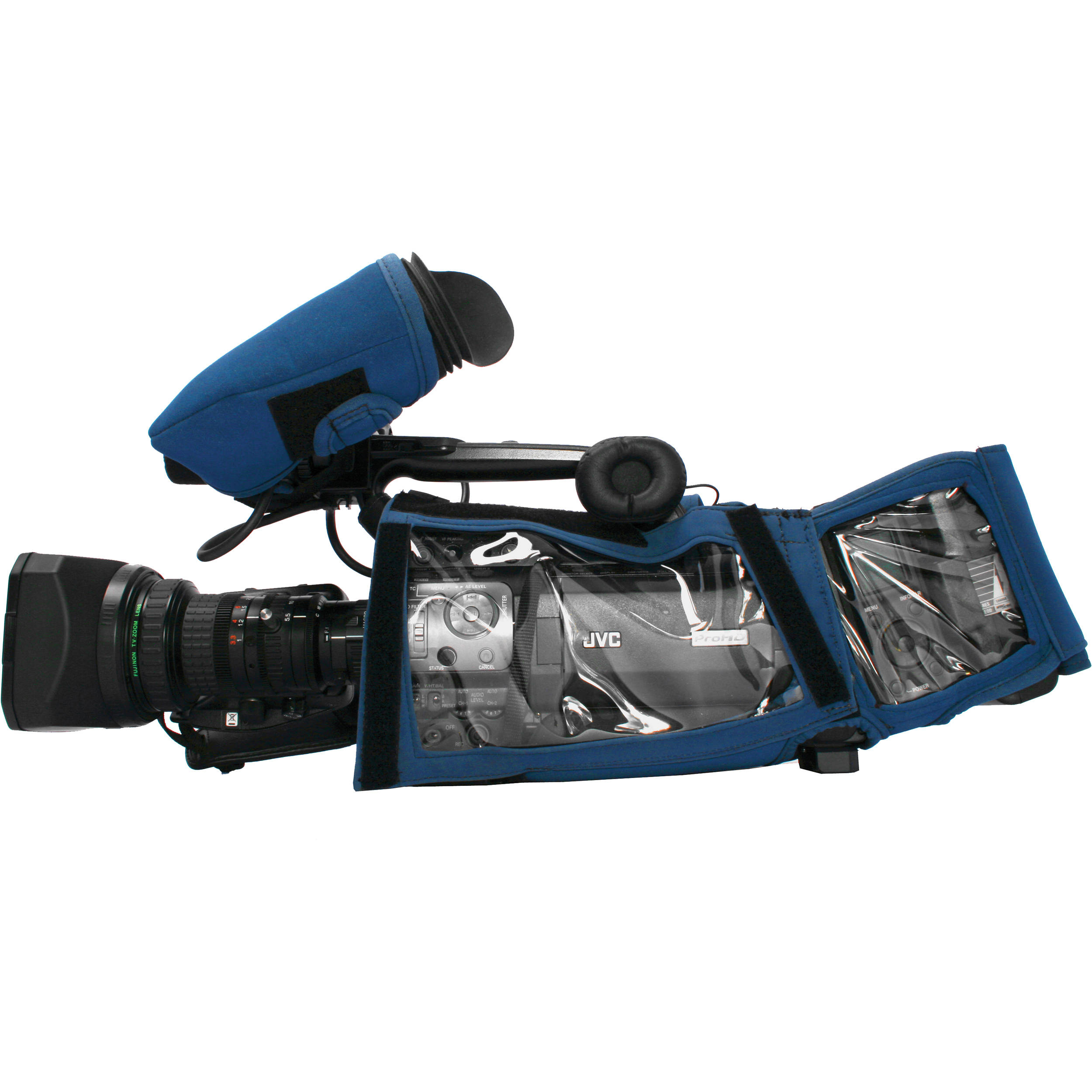 Camera Body Armor for JVC GY-HM850 Camcorder (Blue)