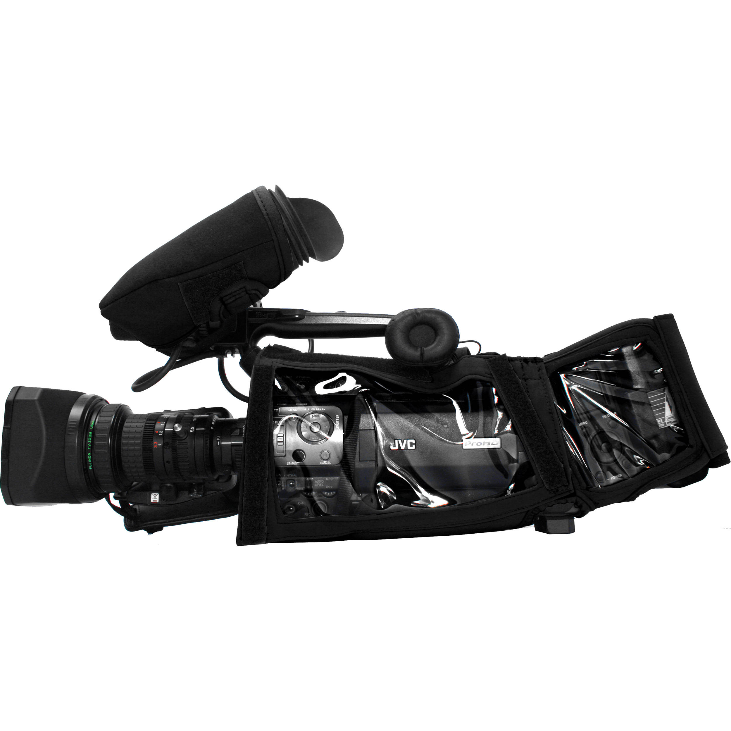 Camera Body Armor for JVC GY-HM850 Camcorder (Black)