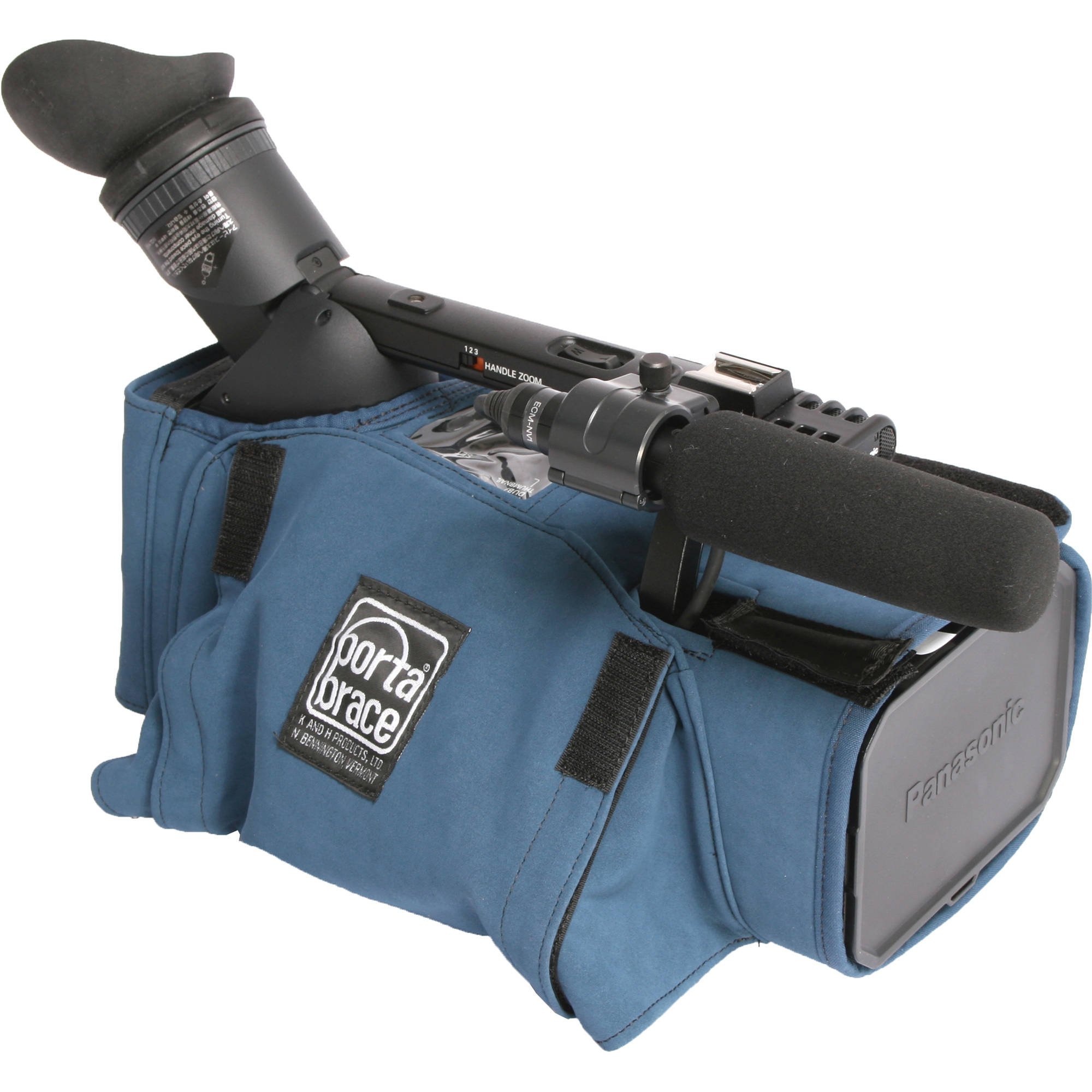 Portabrace CBA-HMC150 Camera Body Armor Mini Camera Case (Blue)