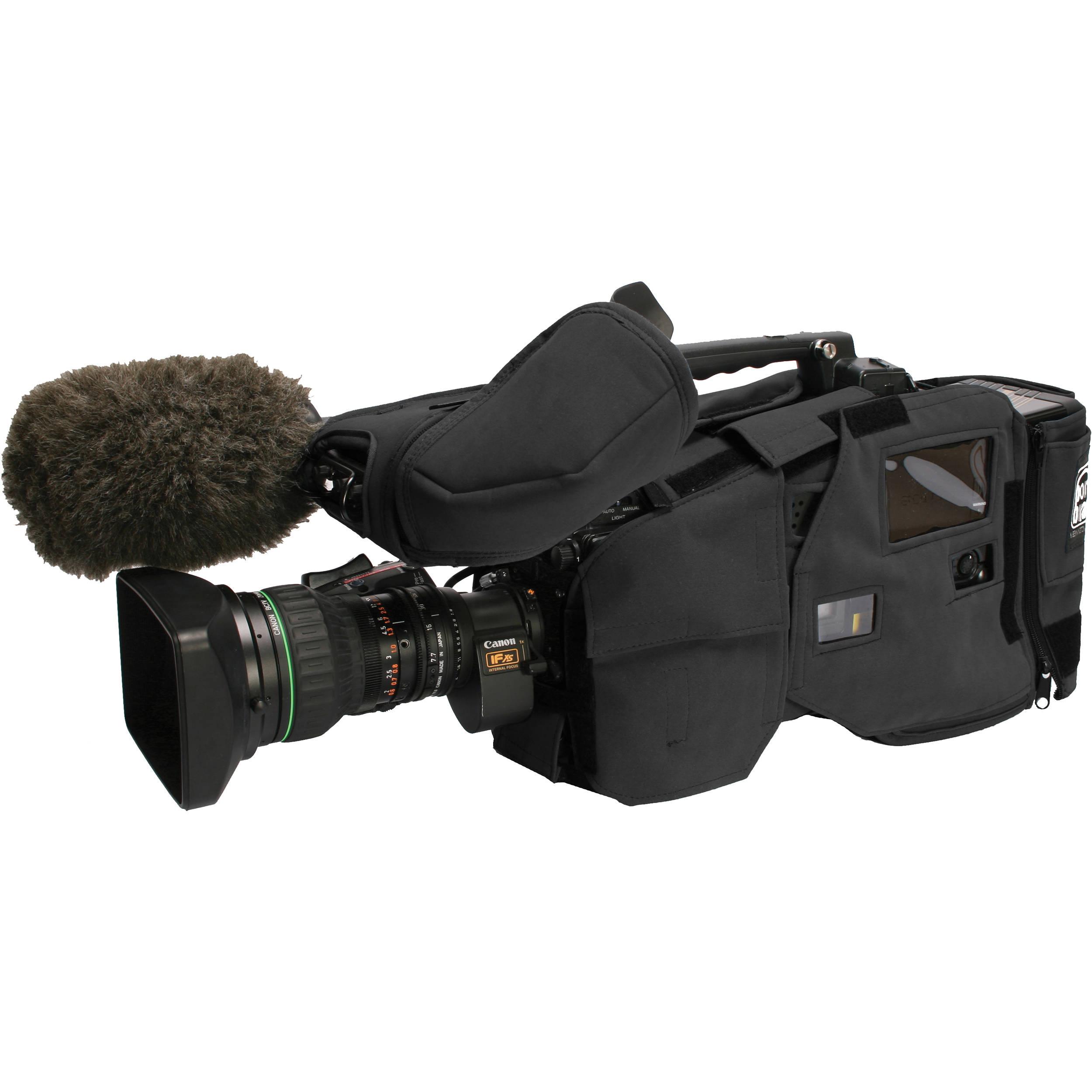 Porta Brace Camera Body Armor Case for Sony Camcorders (Black)