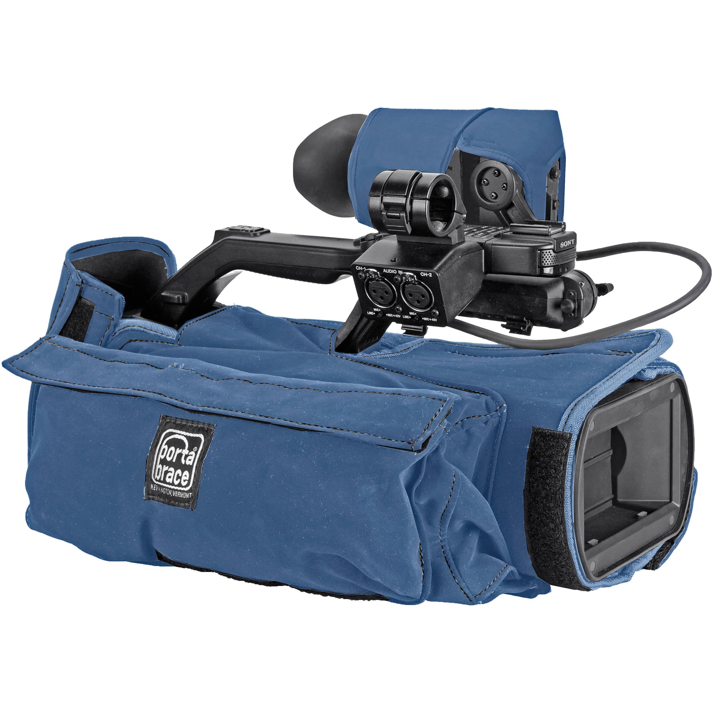 Porta Brace Camera Body Armor Case for Sony PMW-300 (Blue)