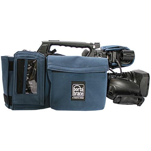 Porta Brace Camera Body Armor Case for Sony PMW-350K (Blue)