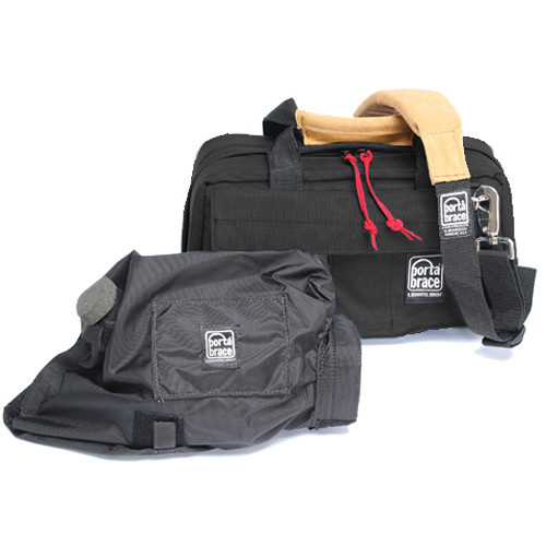 Porta Brace CS-DV2 Mini DV Camera Case with Mini-Quick Slick Rain Cover (Black)