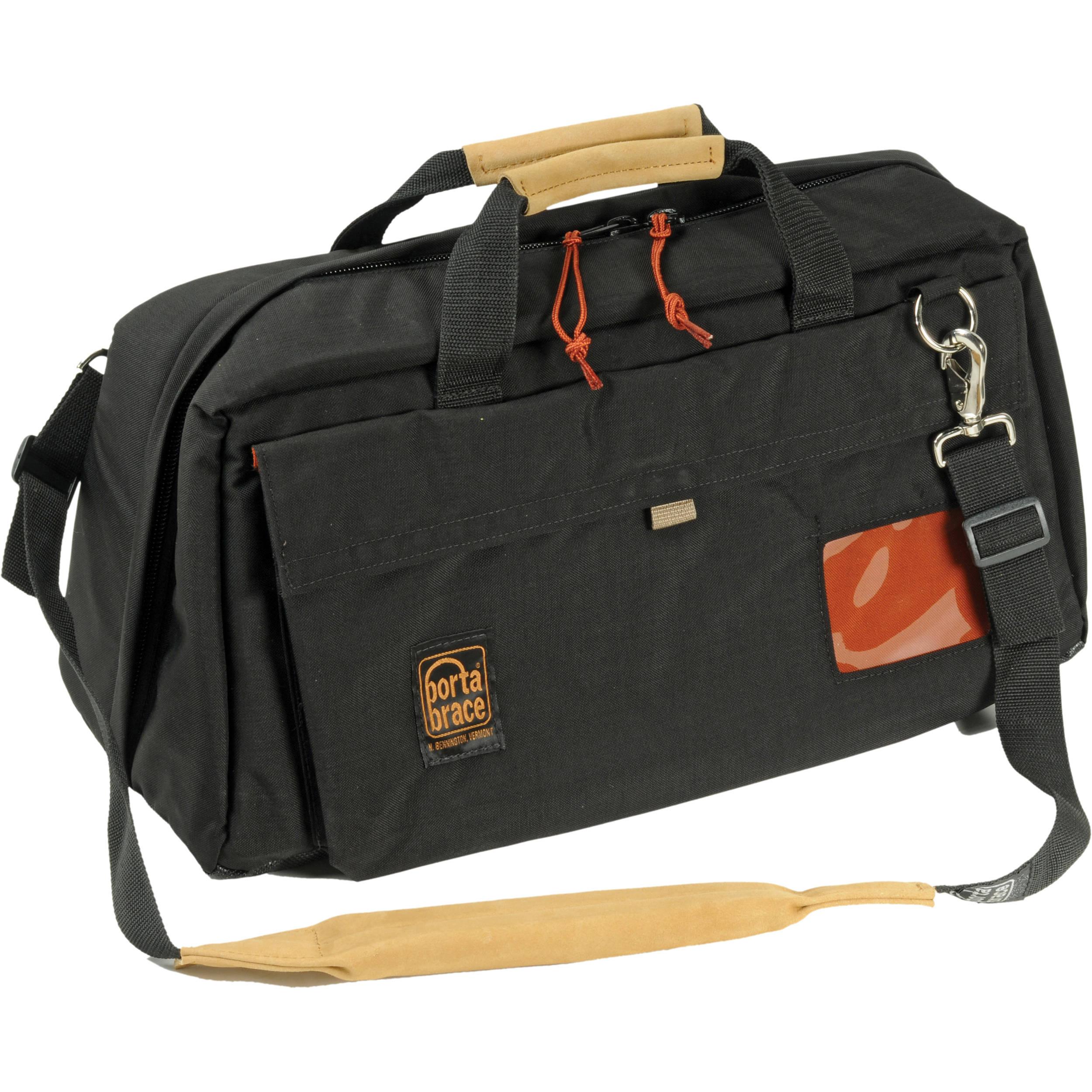 Porta Brace CS-DV4 Mini-DV Camcorder Case with QS-M4 Mini Quick Slick (Black)