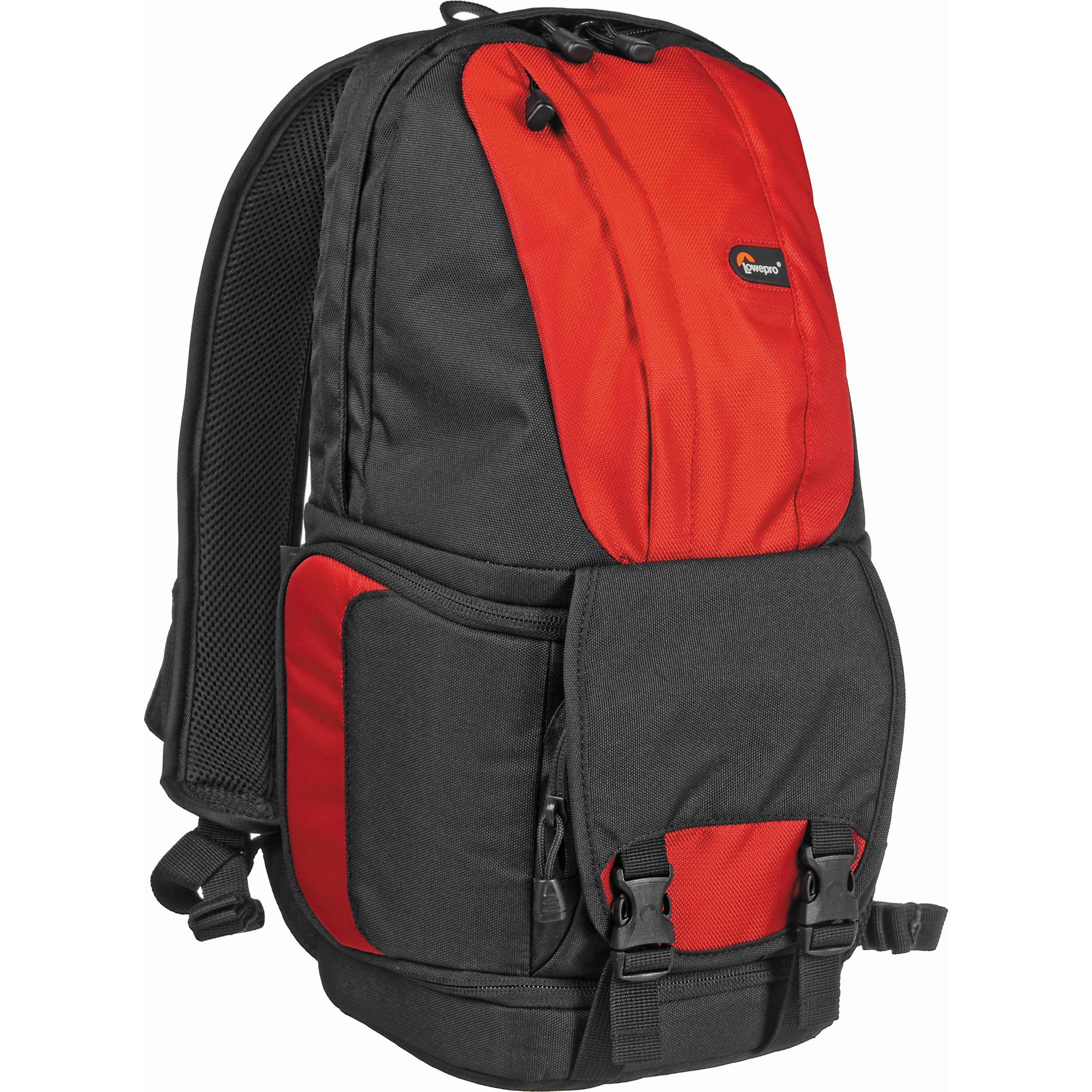 Lowepro Fastpack 100 Backpack (Red/Black)
