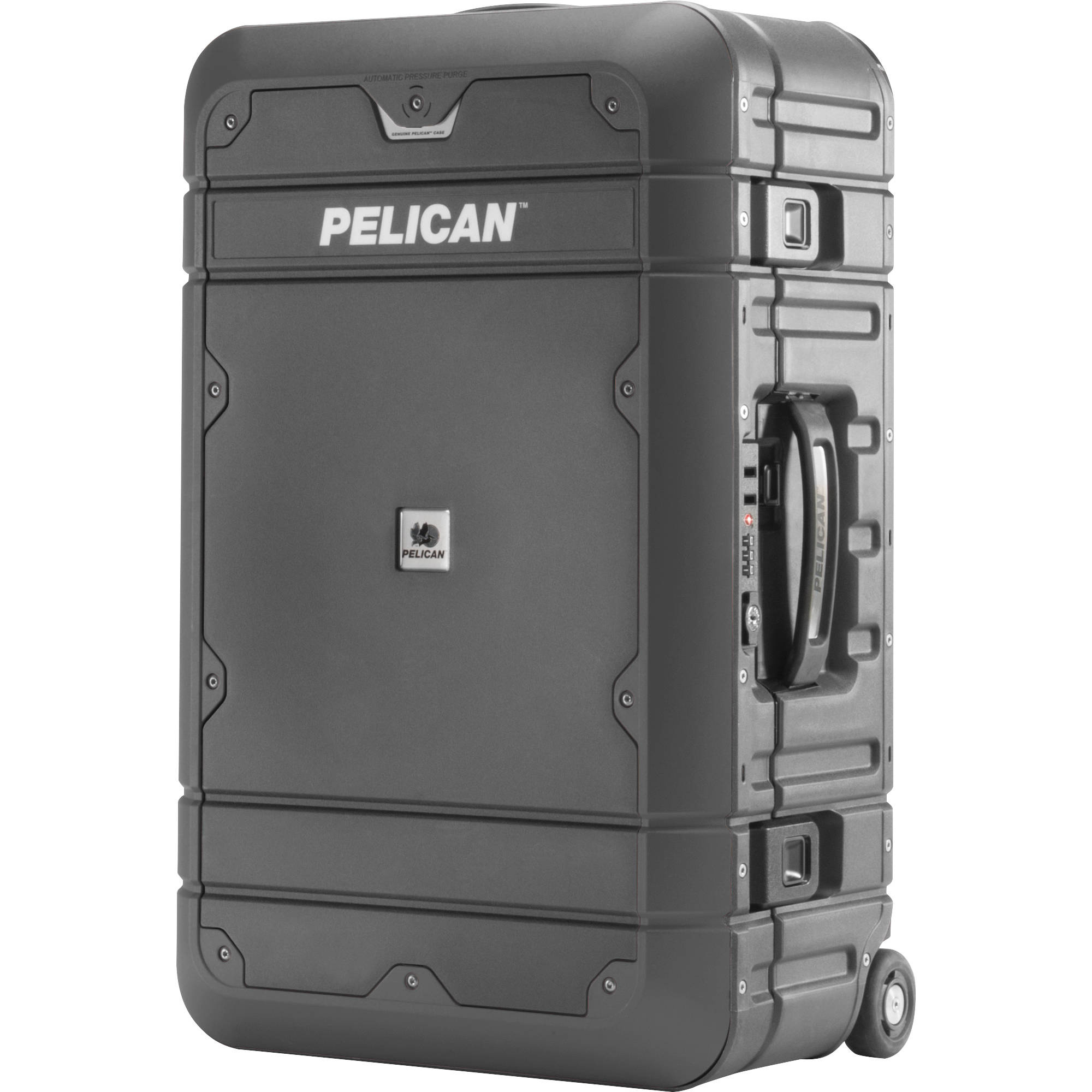 Pelican BA22 Elite Carry-On Luggage  (Grey with Black)