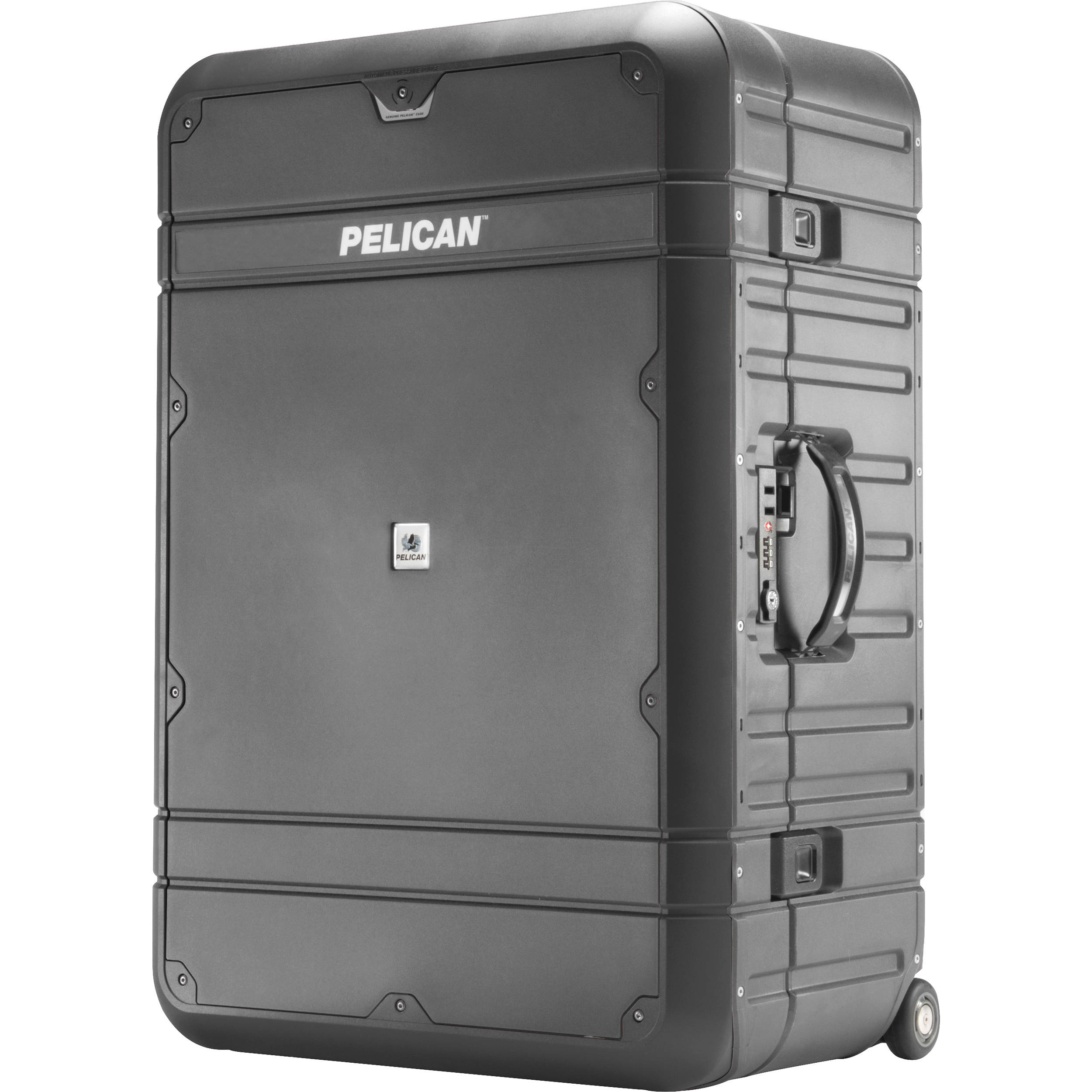 "Pelican 30"" Elite Vacationer Luggage (Grey and Black)"