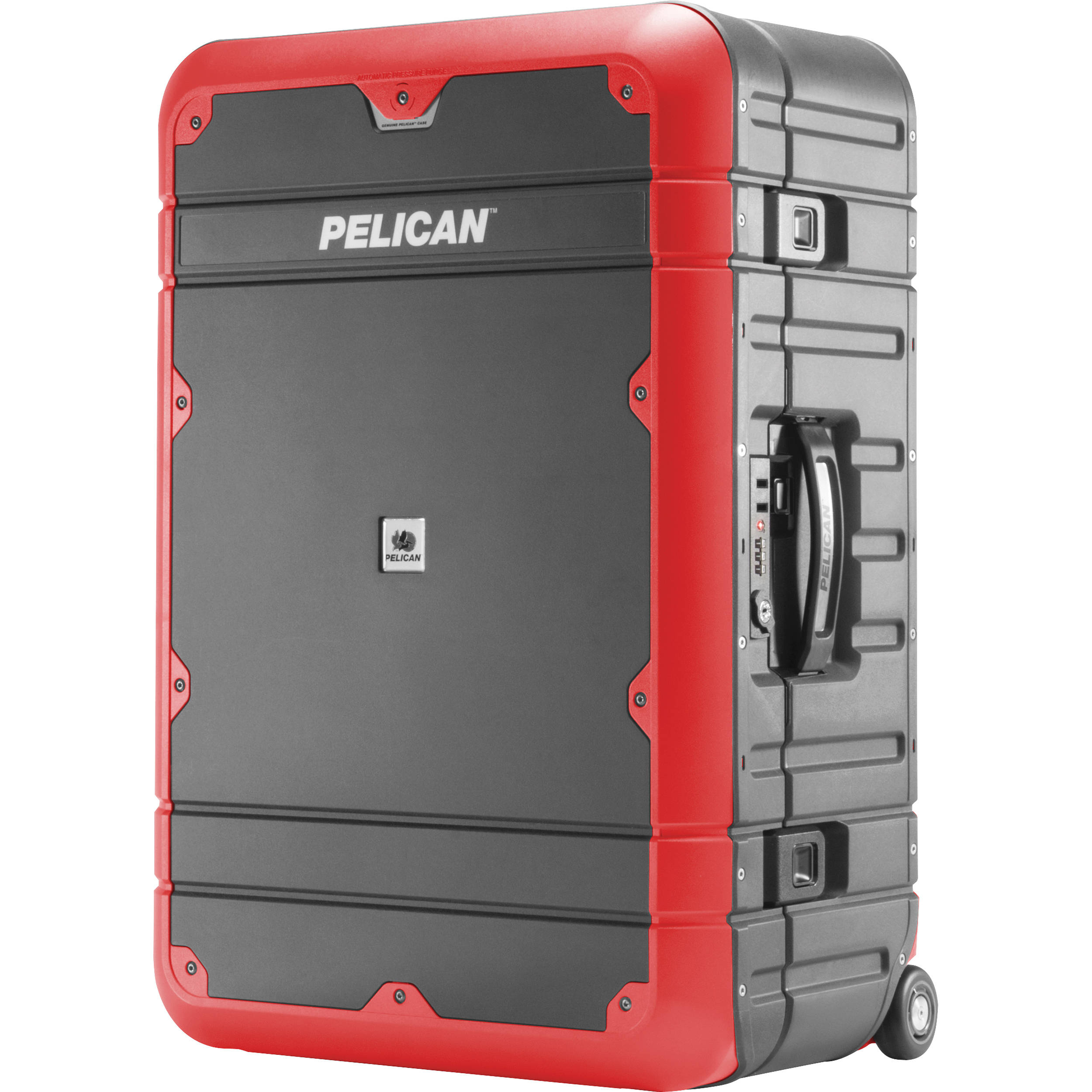 Pelican EL27 Elite Weekender Luggage with Enhanced Travel System (Grey and Red)
