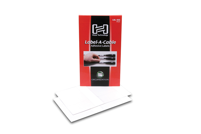 Hosa LBL-466 Cable Labels (60 pieces)