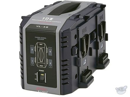 IDX 4 E-HL10DS V-Mount Batteries and Charger Kit