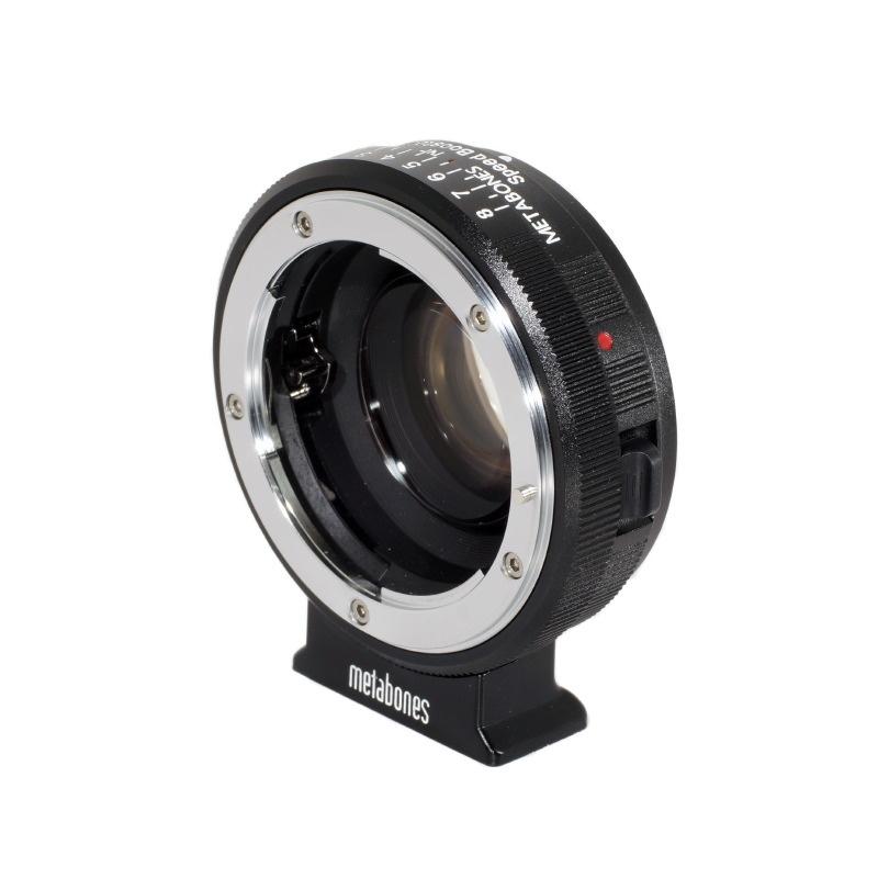 Metabones Nikon F-Mount Lens to Fujifilm X-Mount Camera Speed Booster ULTRA