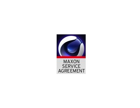 MAXON Service Agreement - Broadcast - 12 Months (Download)