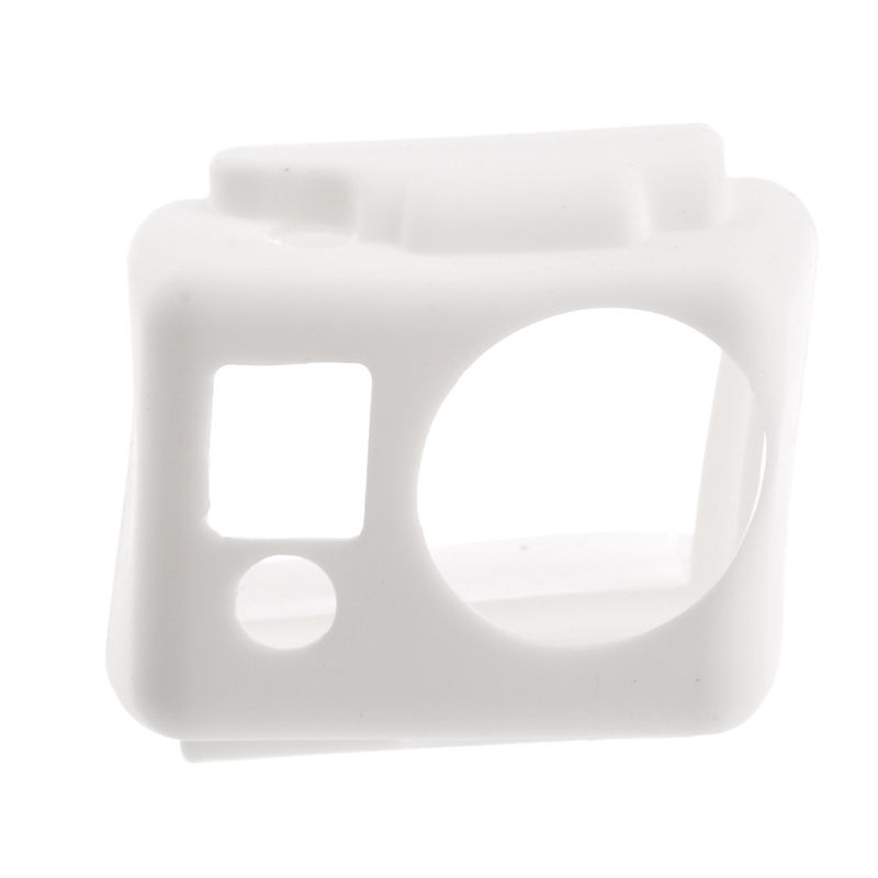 Meinuo Silicone Case for GoPro HERO 2 (White)