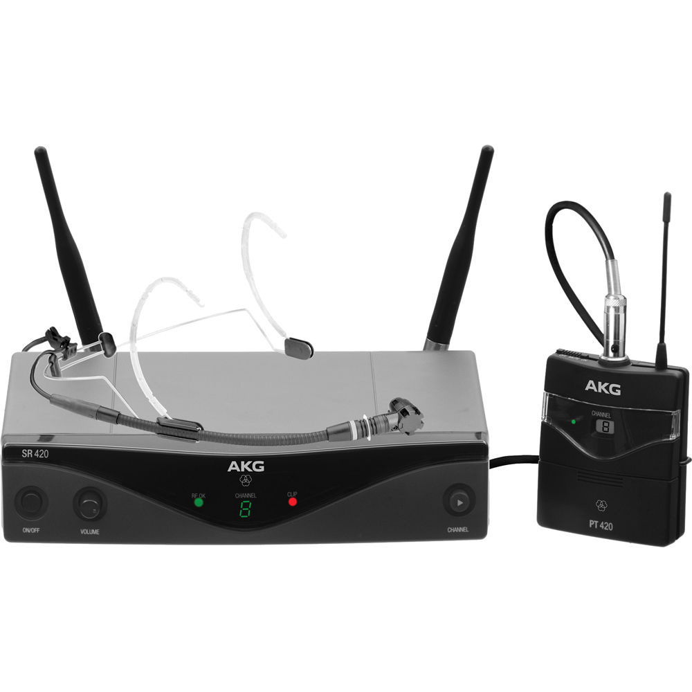AKG WMS420 UHF Wireless Headset System