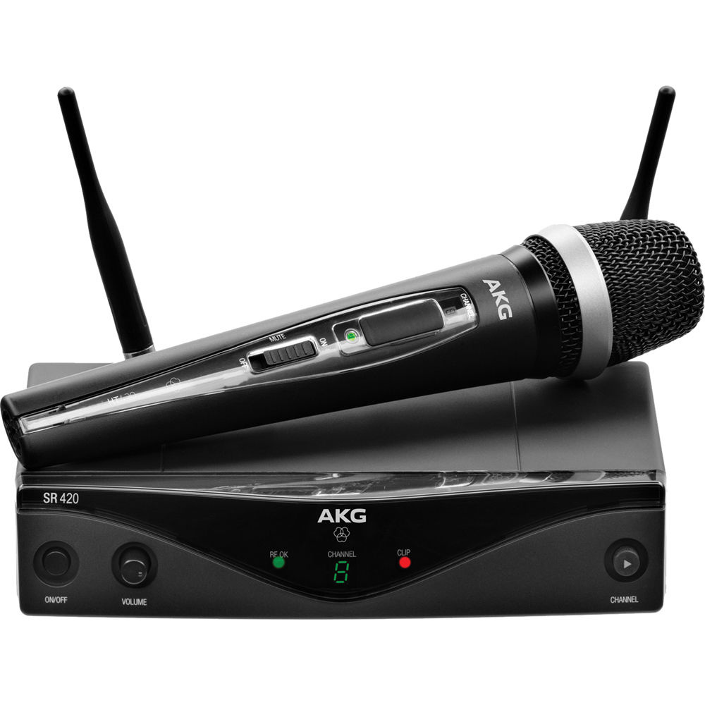 AKG WMS420 UHF Wireless Vocal Set