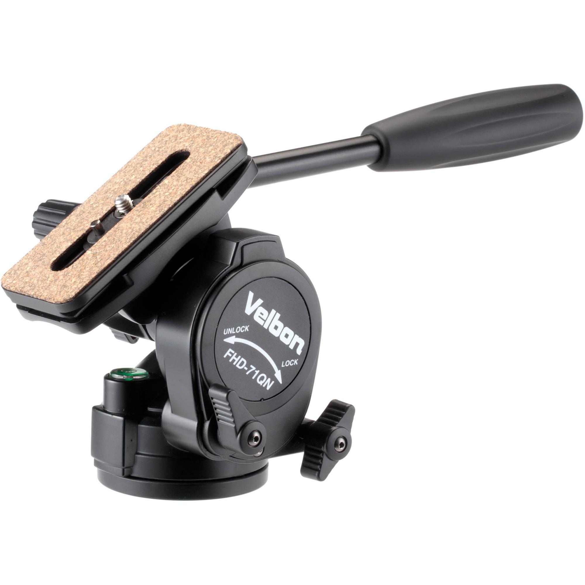 Velbon FHD-71QN 2-Way Fluid Pan Head