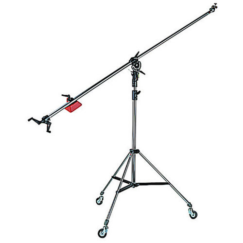 Manfrotto 025BS Super Boom with 008BU Stand (Black)
