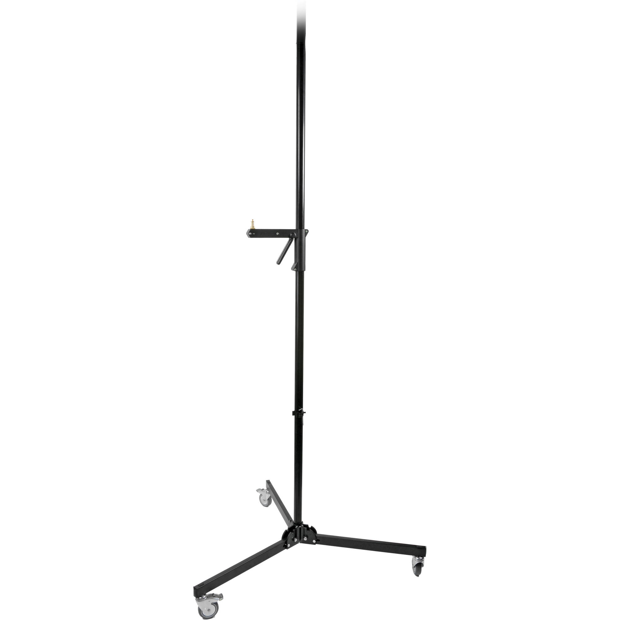 Manfrotto 231B Column Stand with Sliding Arm, Black (2.4m)