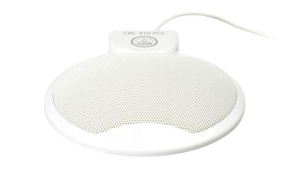AKG CBL 410 PCC Conference & VoIP Microphone (White)