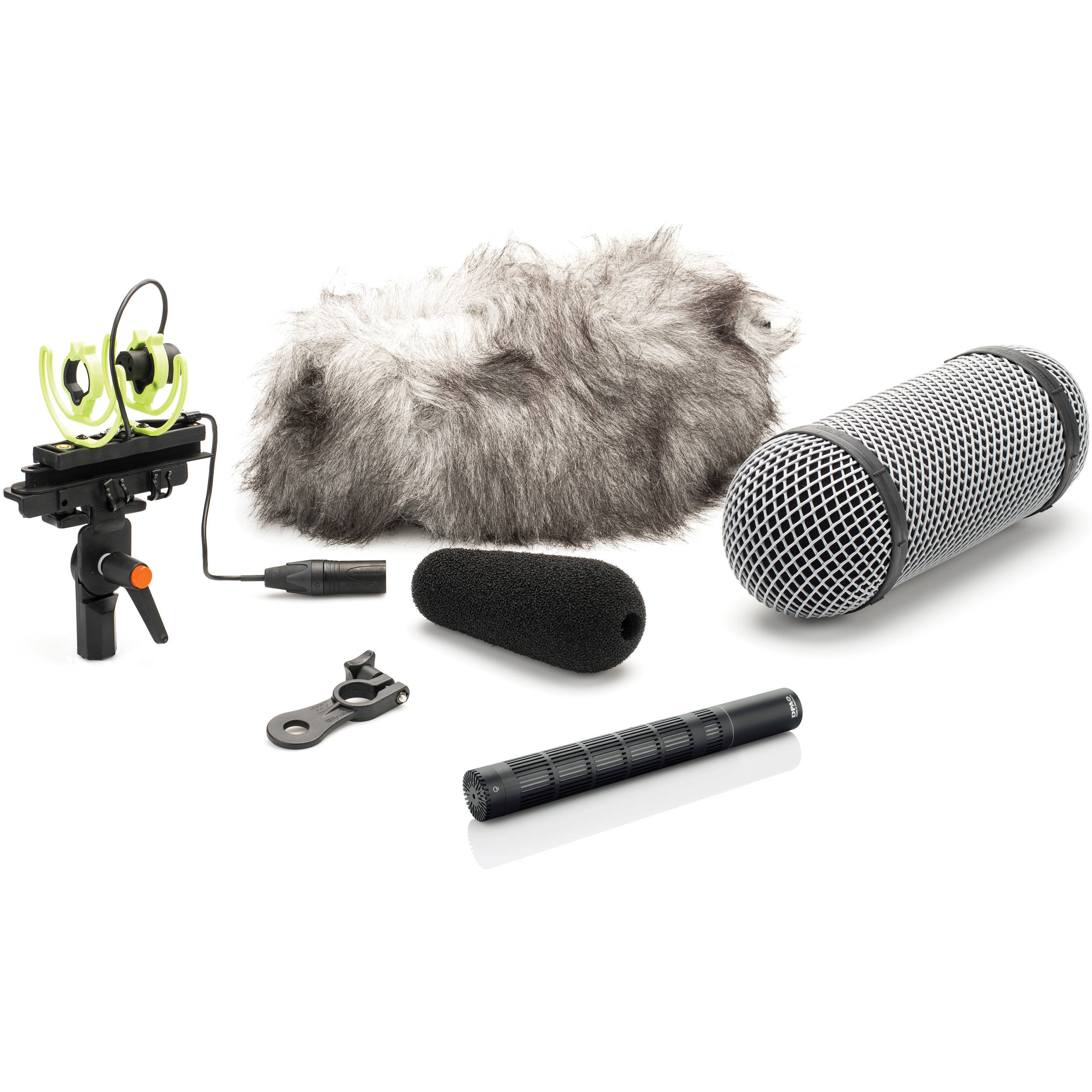DPA Microphones 4017C-R Compact Shotgun Microphone with MMP-C Preamp and Rycote Windshield Kit