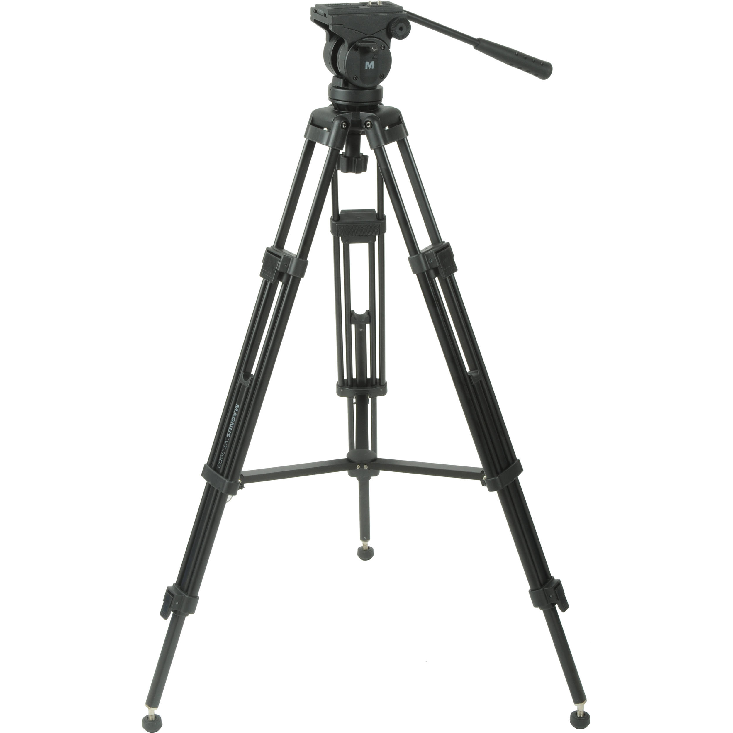 Magnus VT-3000 Tripod System with Fluid Head