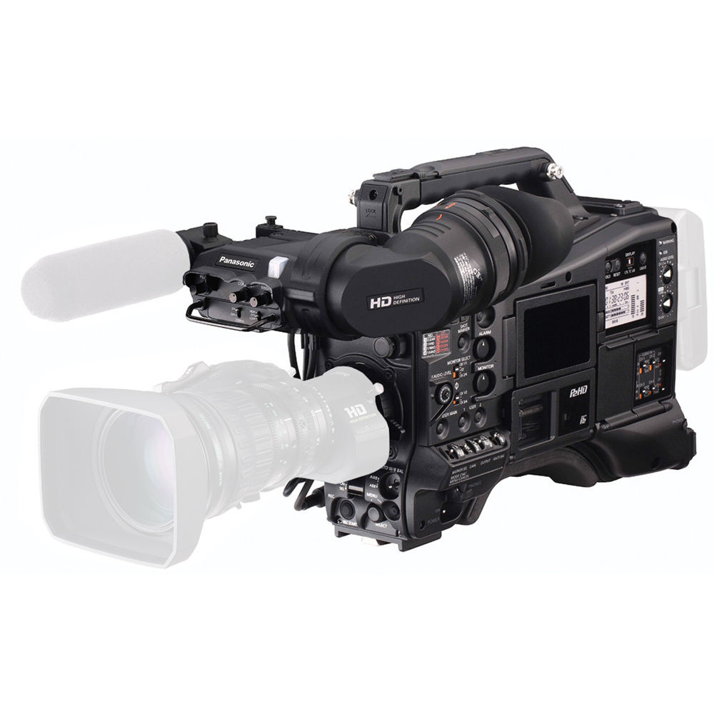 """Panasonic AJ-PX5000G 2/3"""" ENG Style Camcorder with P2 & microP2 Media Card Slots"""