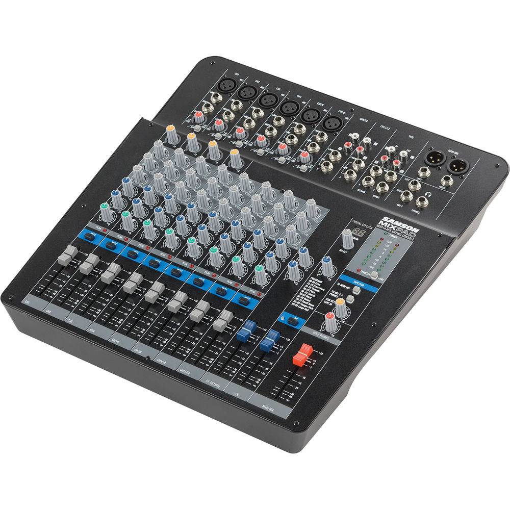 Samson MixPad MXP144FX 14-Channel Analog Stereo Mixer with Digital Effects and USB