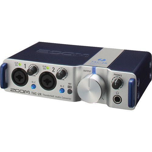 Zoom TAC-2R Thunderbolt Audio Interface