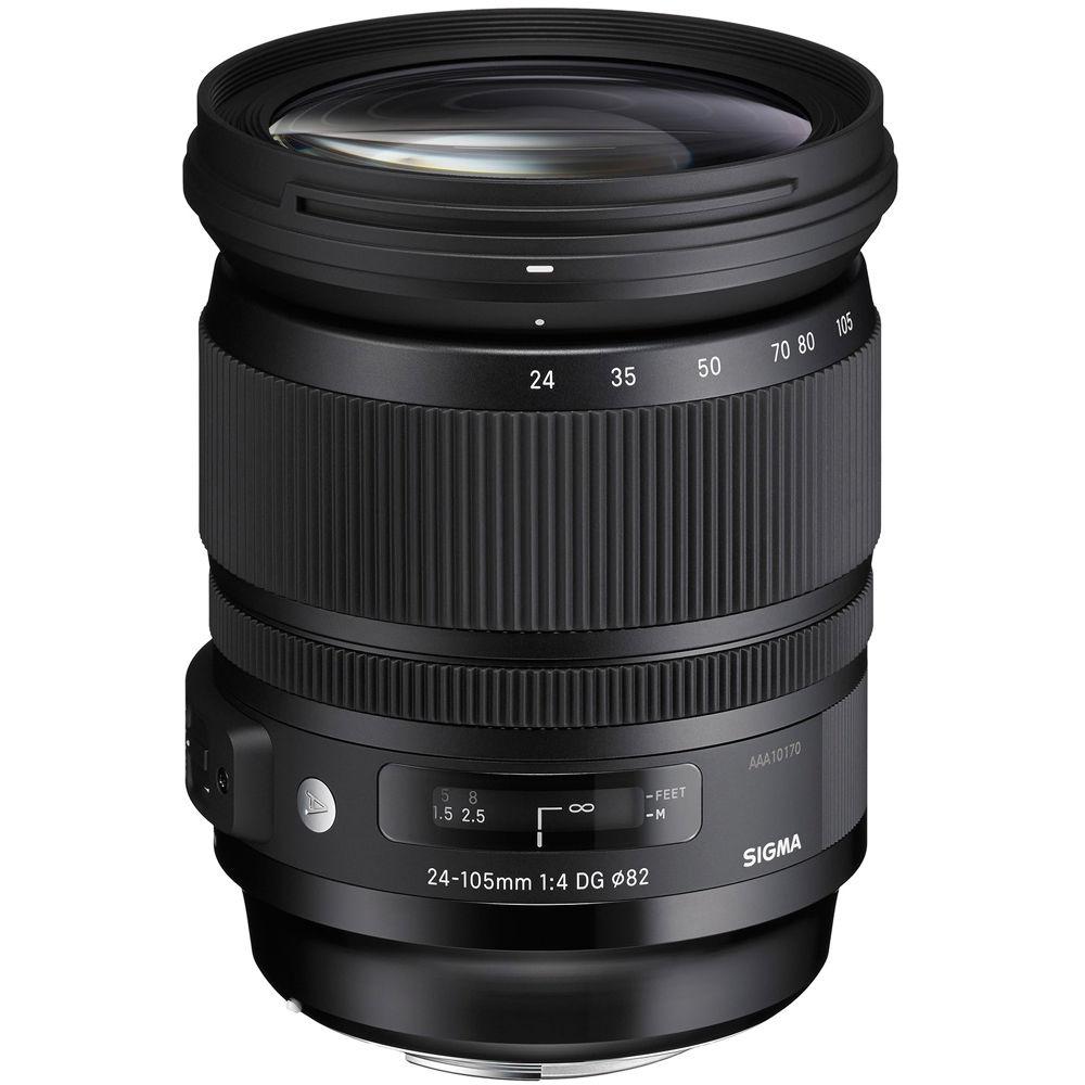 Sigma 24-105mm F/4 DG OS HSM Lens for Nikon DSLR Cameras