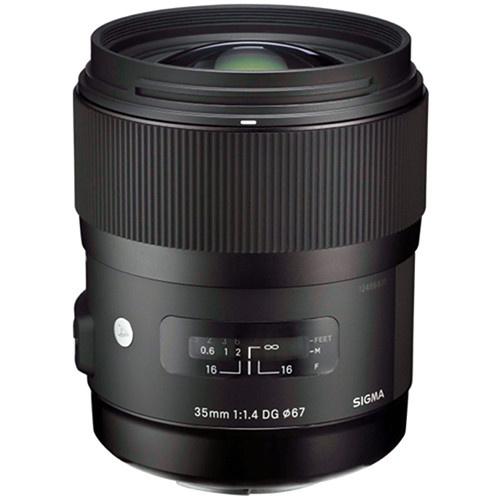 Sigma 35mm f/1.4 DG HSM Lens for Pentax DSLR Cameras
