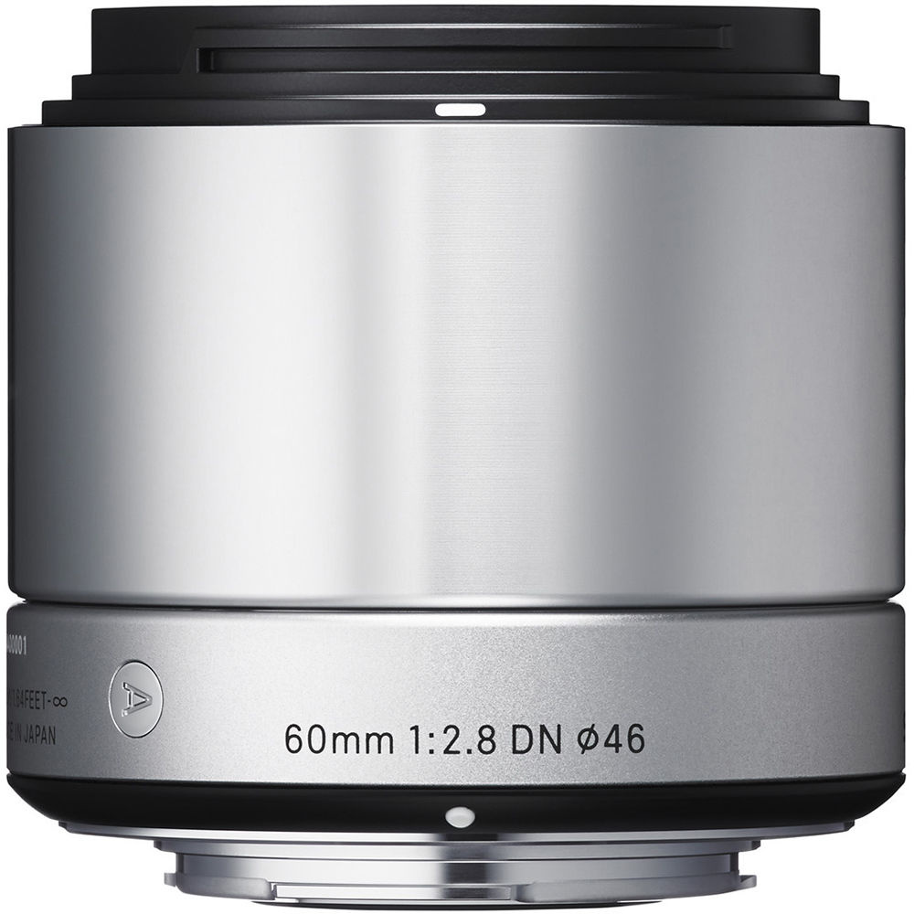 Sigma 60mm f/2.8 DN Lens for Micro Four Thirds Cameras (Silver)