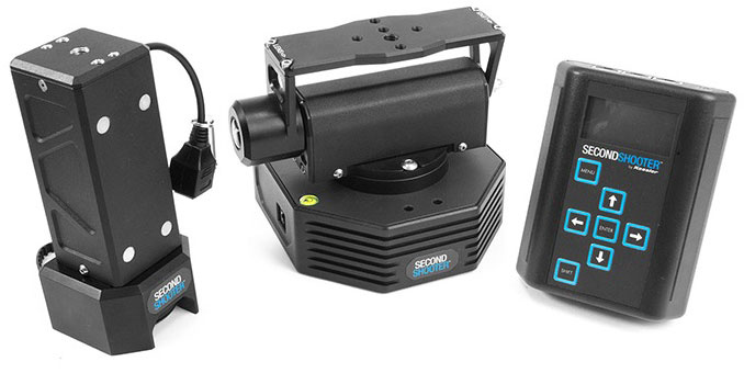 Kessler Second Shooter Bundle  (3-Axis) Slide, Pan, Tilt System