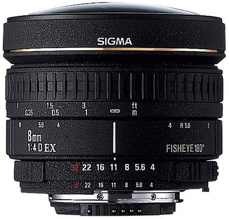 Sigma Fisheye 8mm f/3.5 EX DG Circular Fisheye Autofocus Lens for Canon EOS