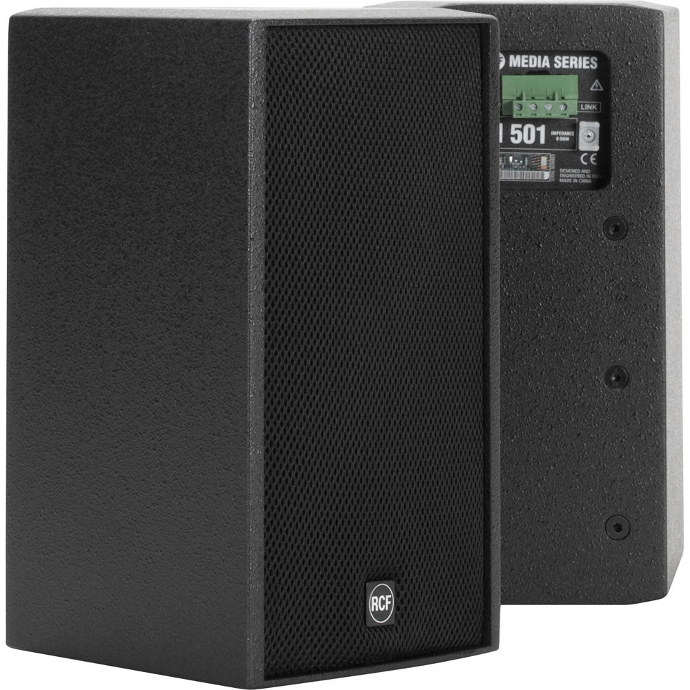 """RCF M501 5.5"""" Two-Way Passive Speaker System (Black)"""