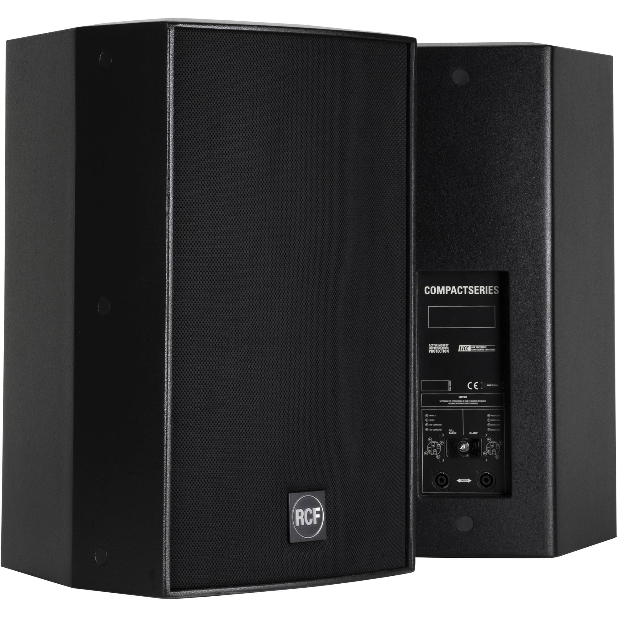 RCF C5212-96 Acustica Series 500W Two-Way Passive Speaker (Black)