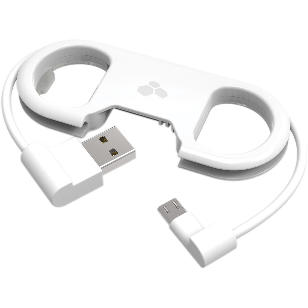 Kanex GoBuddy+ Charge and Sync Cable with Bottle Opener (Micro-USB, White)