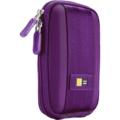 Case Logic QPB-301 Point and Shoot Camera Case (Purple)