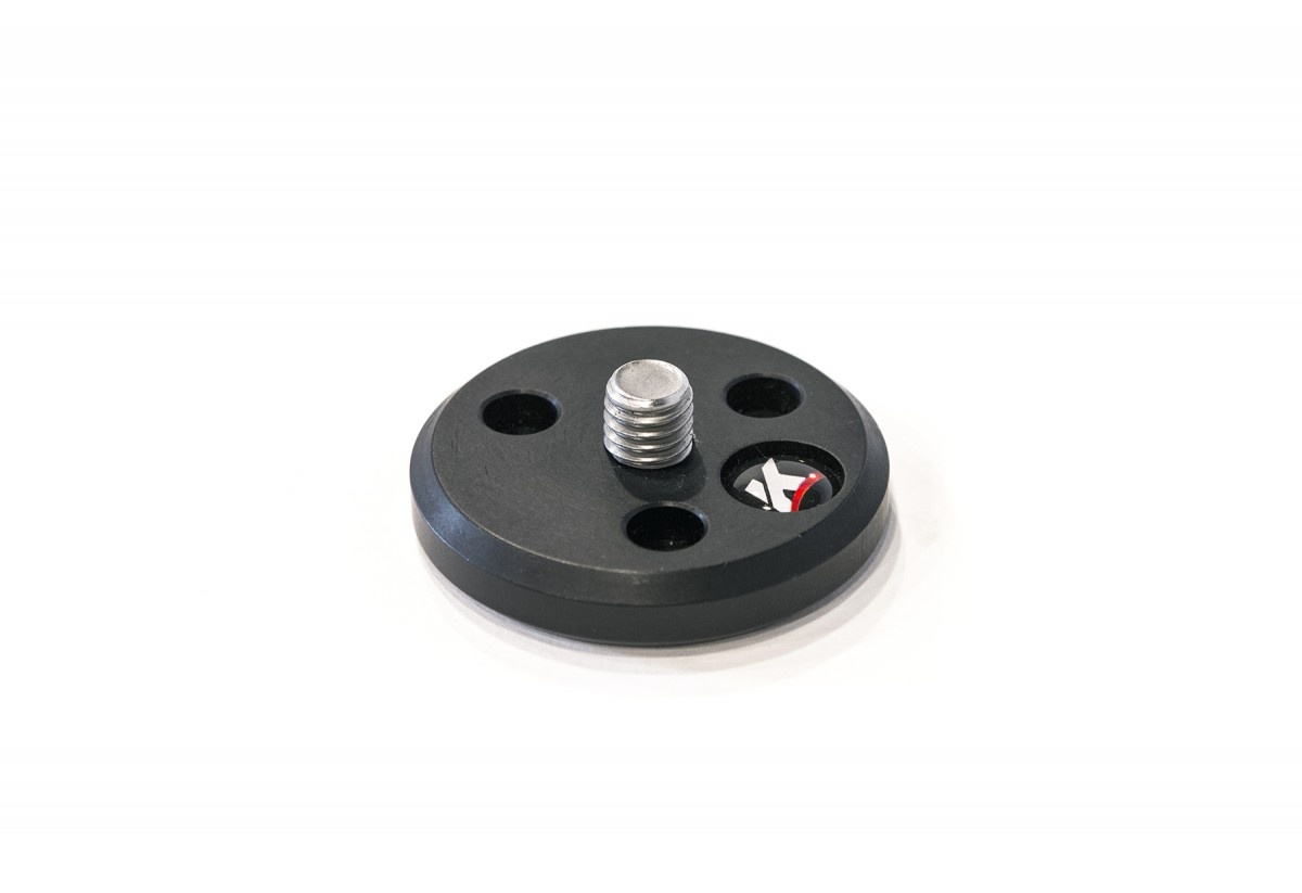 "Kessler 3/8""-16 Top Plate for Low Profile Ball Head"