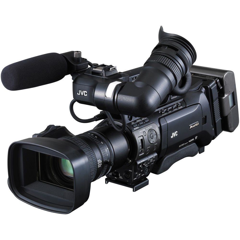 JVC GY-HM850E Full HD Shoulder-Mount ENG/Studio Camcorder