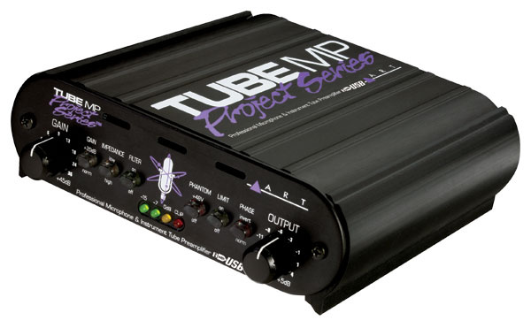 ART Tube MP USB - Project Series Tube Preamp