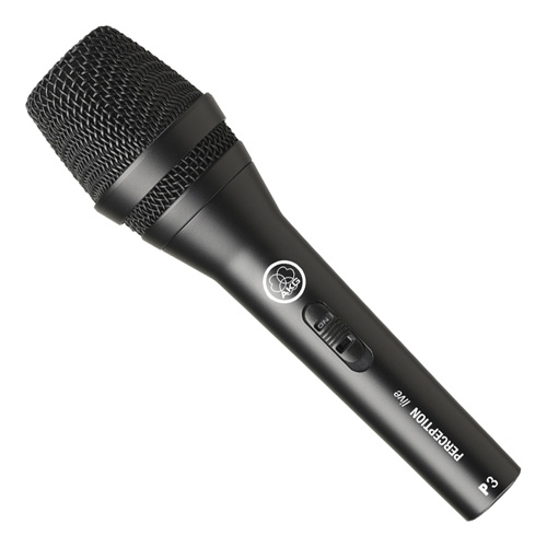 AKG P3S Dynamic Performance Microphone with switch