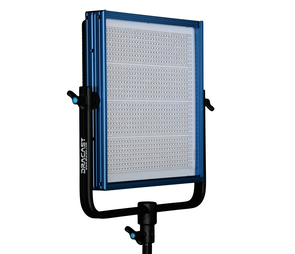 Dracast LED1000 Daylight LED Light with V-Mount Battery Plate
