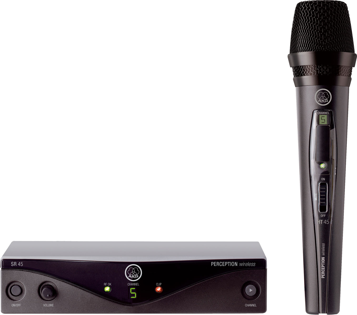 AKG WMS 45 Perception Handheld Wireless Vocal System