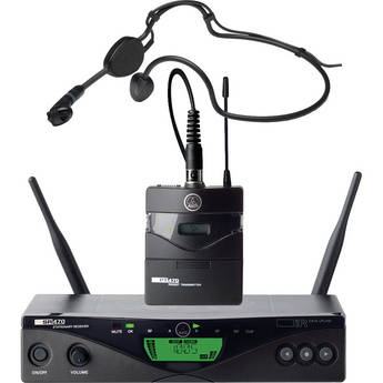 AKG WMS 470 Sports Set Wireless Headworn Microphone System