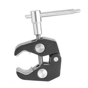 "Titan universal mini clamp with 3/8"" and 1/4"" thread"