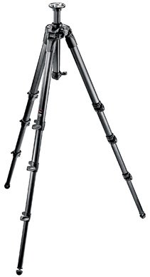 Manfrotto 057 - 4-Section Carbon Fiber Tripod (Rapid)