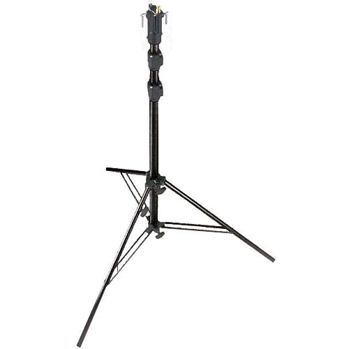 Manfrotto 256BUAC-3 Self-Locking Air Cushioned Cine Stand (Black)
